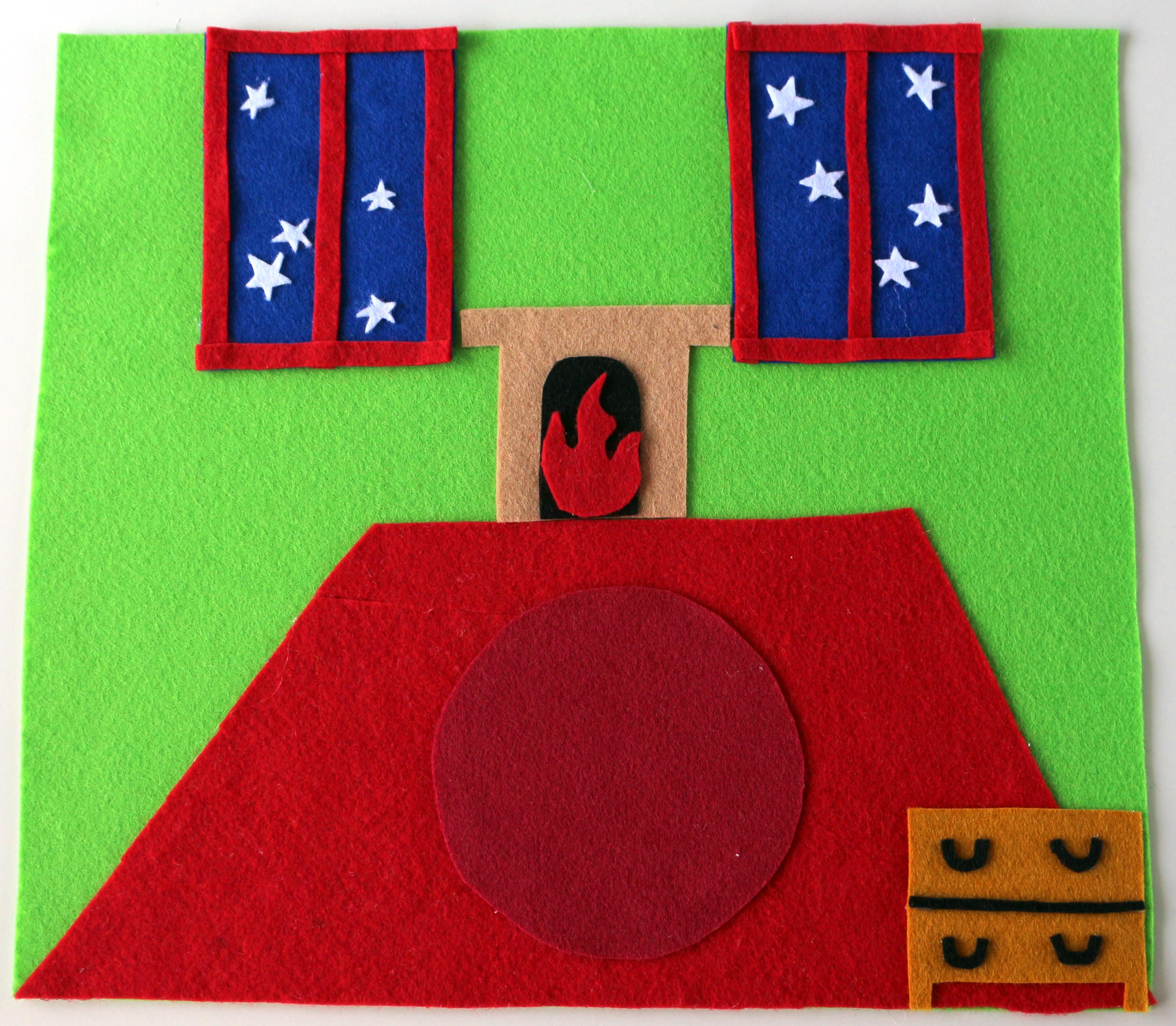 Goodnight Moon Felt Flannel Board Set
